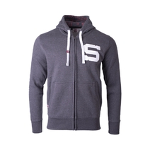 Kid's hoodie with zipper HC Sparta dark grey