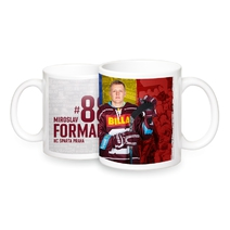Mug with the player Miroslav Forman 18/19