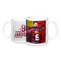 Mug with the player Richard Jarůšek 18/19