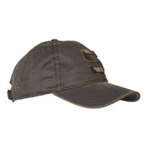 Cap vintage brown with logo S