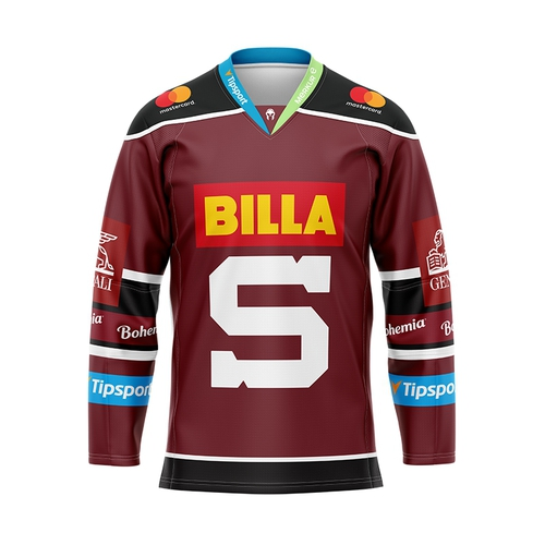 Fan jersey junior HC Sparta 19/20 burgundy