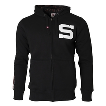 Men's zip hoodie black SPA1705