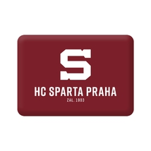 Magnet flat with incsription HC Sparta Praha