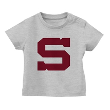 T-shirt baby grey with S