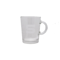 Glass mug Liberty with the logo HCS