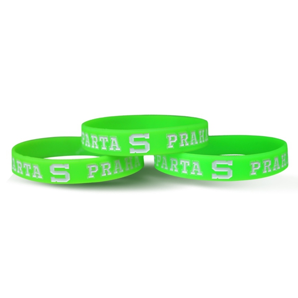Silicone bracelets neon for adult