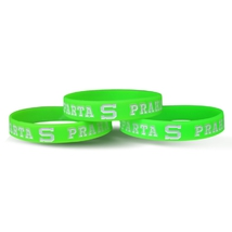 Silicone bracelets neon for kids