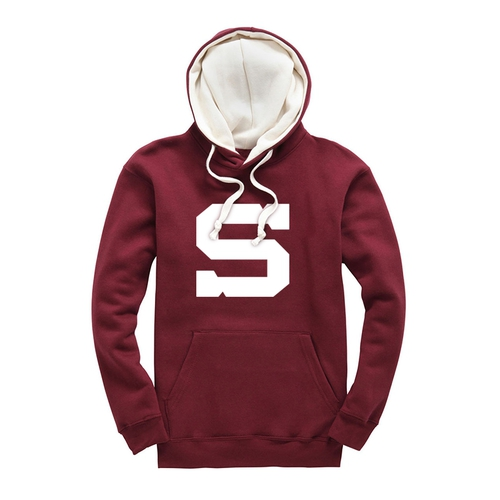 Hoodie for kids big white S