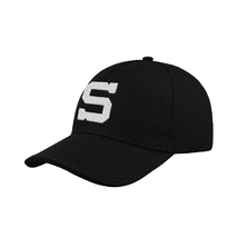 Cap for kids black atlantis 3D logo S