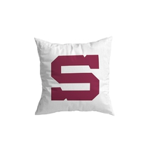 Pillow with logo S