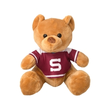 Teddy bear in Sparta jersey -burgundy